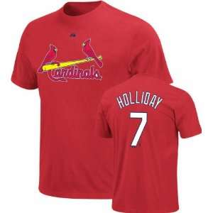 Name and Number St. Louis Cardinals T Shirt