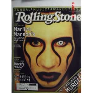 Rolling Stone Magazine Issue 752, Marilyn Manson cover