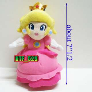 New Super Mario Bros Plush Figure(71/2 Princess Peach)