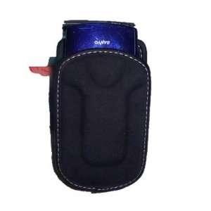 Universal Flip Phone Case (Mini) Black Suede Cell Phones