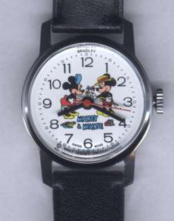 Bradley Mickey & Minnie Mouse in Love character watch