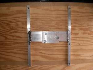 Custom R & P Aluminum Trailer Spare Tire Wall Mount Bracket