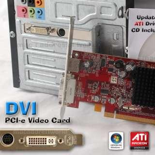 Dell Inspiron 530 531 535 560 580 620 DVI PCI e x16 Video Card Desktop