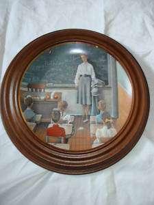 The School Teacher 1884 Norman Rockwell Mint