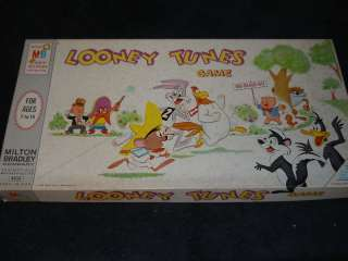 MILTON BRADLEY LOONEY TUNES BOARD GAMEBUGS BUNNY 1968