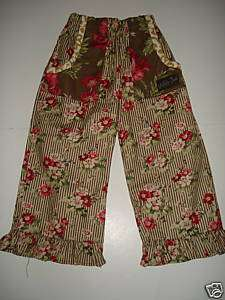NWOT Matilda Jane Polly Pocket Floral Pants 6 VHTF