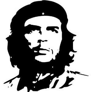 Che Guevara Vinyl Decal Sticker White Vinyl 8 Inch