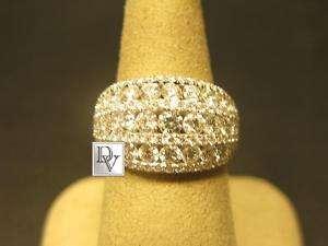 NEW LADIES GREGG RUTH DIAMONDS WHITE GOLD COCKTAIL RING