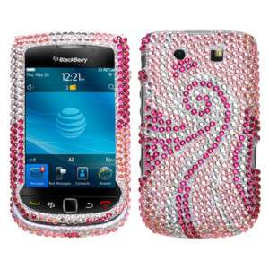 Hard Case for Blackberry Torch 9800 Accessory BLING pt
