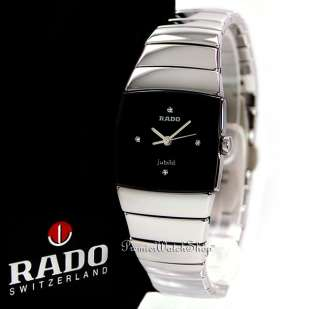 NEW RADO SINTRA JUBILE R13780702   CERAMIC LADIES DIAMOND WATCH