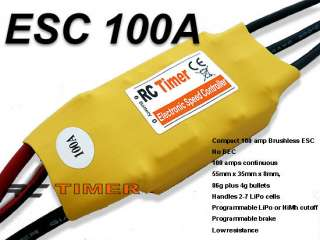 RC Hobbies ESC 100A Brushless Motor Speed Controller