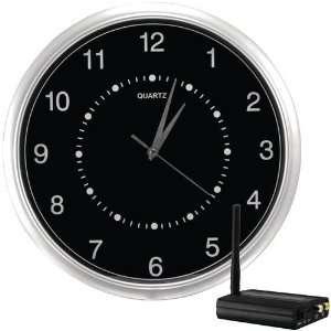 FREE WIRELESS WALL CLOCK HIDDEN CAMERA KIT (CLOCKCAM)