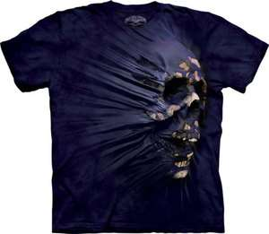 New SIDE BREAKTHROUGH SKULL GOTHIC T SHIRT