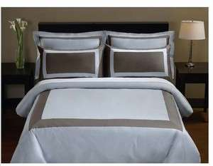 Bedlinen Egyptian Cotton Full Queen Duvet Set Royal Hotel Collection