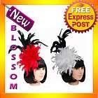 Moulin Rouge Vegas Cabaret Mardi Gras Feather Costume Headband