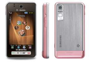 NEW UNLOCKED SAMSUNG T919 3G CELL PHONE  PINK