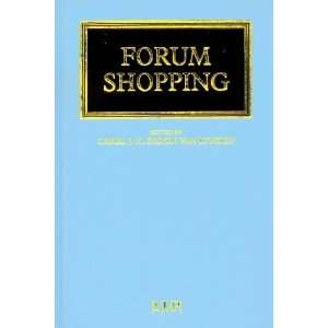 Forum Shopping (9781859781937) Carel Baron van Lynden