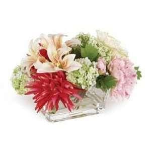 Lily/Dahlia Floral Arrangement Home & Kitchen