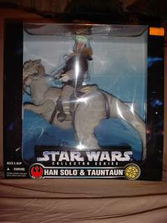 STAR WARS COLLECTOR SERIES HAN SOLO & TAUNTAUN 12 FIGURE TOYS R US