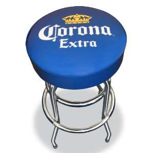 Corona Extra Cerveza Crown Beer Bottle Logo Bar Stool Pub