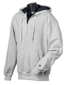 Champion Pullover Quarter Zip Hoodie Hooded Sweatshirt