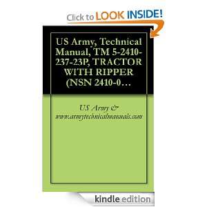 US Army, Technical Manual, TM 5 2410 237 23P, TRACTOR WITH RIPPER (NSN