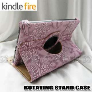 PU Leather Case Cover w/Stand for  Kindle Fire 7 Tablet