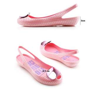 Punching Jelly Sandal Shoes Cute Lovely [PINK] Color ~~