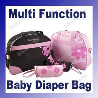 3PCS New Style Flower Multi Function Baby Diaper Nappy