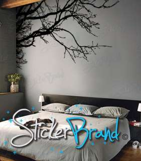 Vinyl Wall Decal Sticker Tree Top Branches #444 Custom Size 70x31