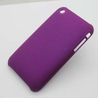 High quality Hard Case Cover For iPhone 3G/3GS purple