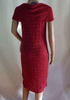URBAN JUNGLE Sleeveless Cowl Neck Dress Red Womens Size M $89