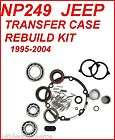 NP249 JEEP TRANSFER CASE REBUILD KIT 95 04 PROFESSIONAL QUALITY