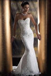 Wedding Gown Dress Custom made Size 6 8 10 12 14 16 18 20 22
