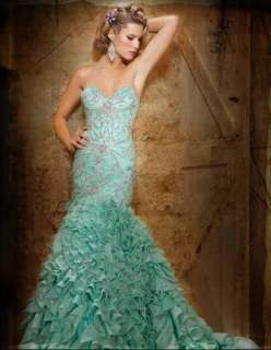 mermaid sweetheart bridal wedding dress custom evening gown prom