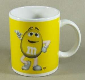 Chocolate Candy Character Mug Coffee Cup Yellow