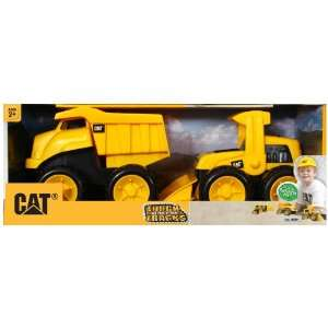 Tough Tracks 2 Pack Dump Truck And Wheel Loader Toys & Games