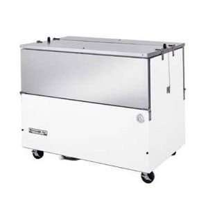 50 White Vinyl Dual Sided Milk Cooler  12 Crate Capacity Appliances