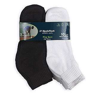 Quarter Sport Socks  10 pack  NordicTrack Clothing Mens Underwear