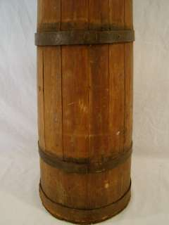 Antique PRIMITIVE Wood COUNTRY Farm SHAKER style BUTTER CHURN