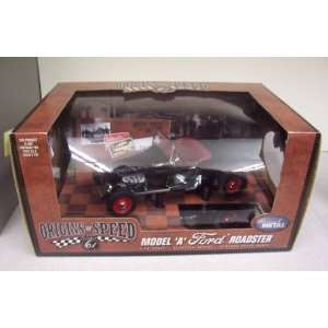 61 50161 Model A Ford Roadster 118 Scale Diecast