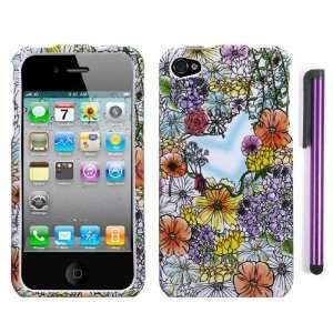 Apple Iphone 4, 4s Phone Protector Hard Cover Case Wild