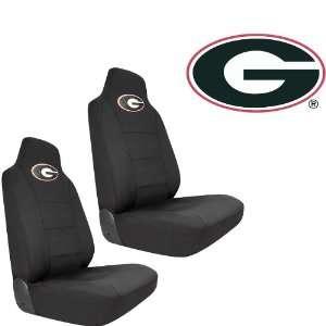 Georgia Bulldogs Car Truck SUV Universal Fit Bucket Seat Covers   Pair