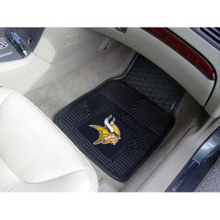 Minnesota Vikings Two Piece Heavy Duty Vinyl Car Mats