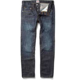 Home > Clothing > Jeans > Slim jeans > ED55 Ozone Wash Tapered