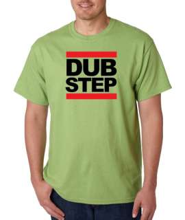 Dubstep RUN DMC Style Electronic 100% Cotton Tee Shirt