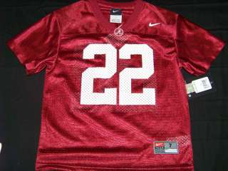 Nike Alabama Crimson Tide Youth Jersey NWT #22