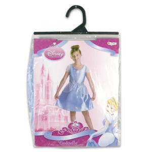 Disney Cinderella Costume Girl Size 4 6 or 7 8 NWT