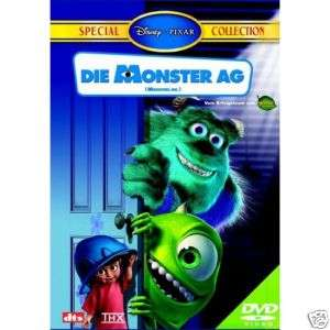 Die Monster AG   Special Collection   Disney   DVD