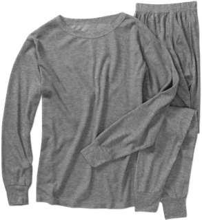 100% Cotton Mens Long Johns Thermal Set Thermo Top Long Sleeve Shirt
